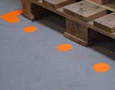 Formas para señalizar el suelo