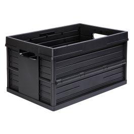 Caja plegable Evo Box - 46 litros, negro