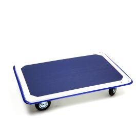 Carro de plataforma de acero con capacidad de carga de 300 kg