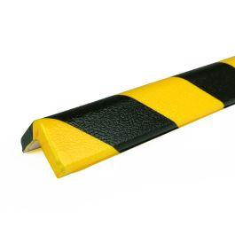Parachoques PRS para esquinas, modelo 7 - amarillo y negro - 1 metro