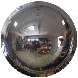 Espejo convexo de 360°