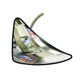 Espejo antirrobo, triangular
