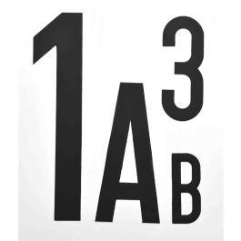 Letras y números magnéticos (por unidad)