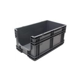 Contenedor para pared recta 260x505x210 mm con frontal abierto