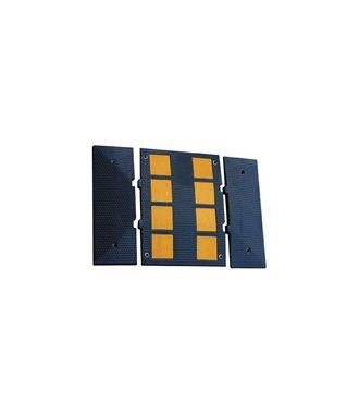 Badén reductor de velocidad de goma 950 mm x 600 mm x 30 mm