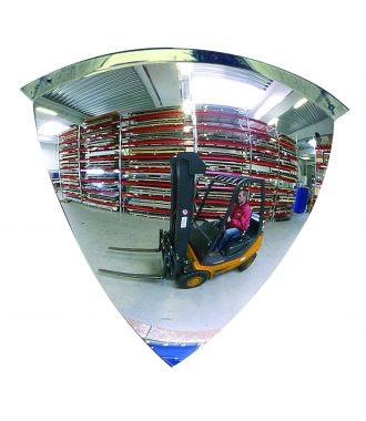 Espejo Convexo – Espejo de un cuarto de cúpula - 90°