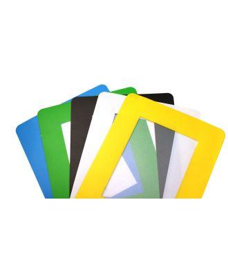 Cubierta Transparente Autoadhesiva ColorCover para Documentos de Suelo (paquete de 10)