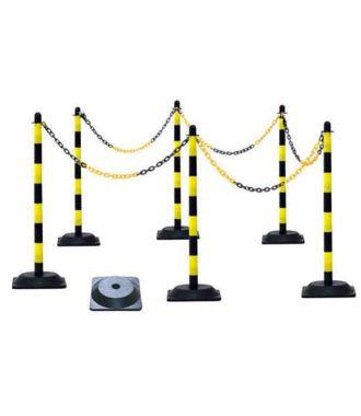 Set de postes de plástico