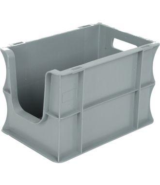 Contenedor para pared recta Eurobox 200x300x200 mm con frontal abierto