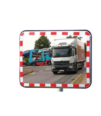 Espejo de tráfico UNI-SIG con reflectores