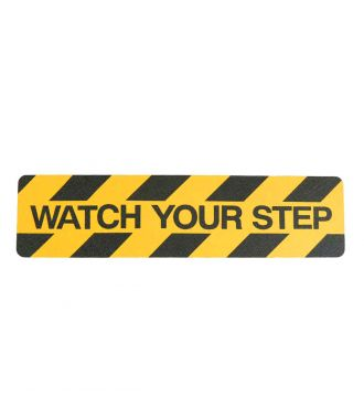 """Watch your step"" cinta antideslizante"