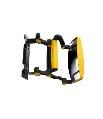 Espejo frontal GenieGrips® para carretillas elevadoras