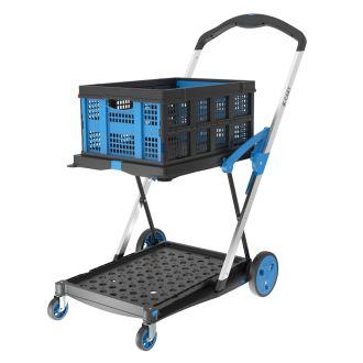 Carro para cajas plegable X-Cart + 1 caja plegable