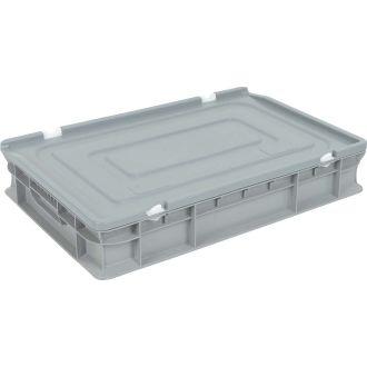 Tapa para contenedor de pared recta Eurobox 400x600 mm