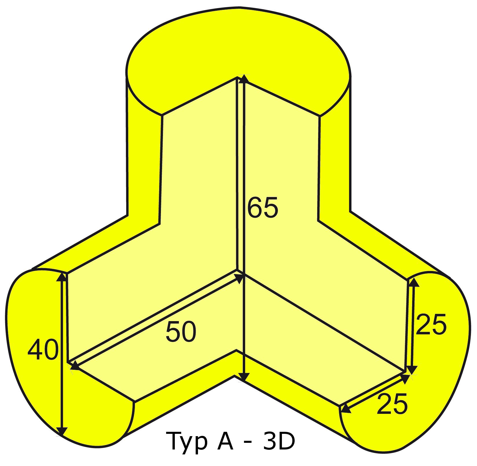 Knuffi multi-corner bumber A-3D type